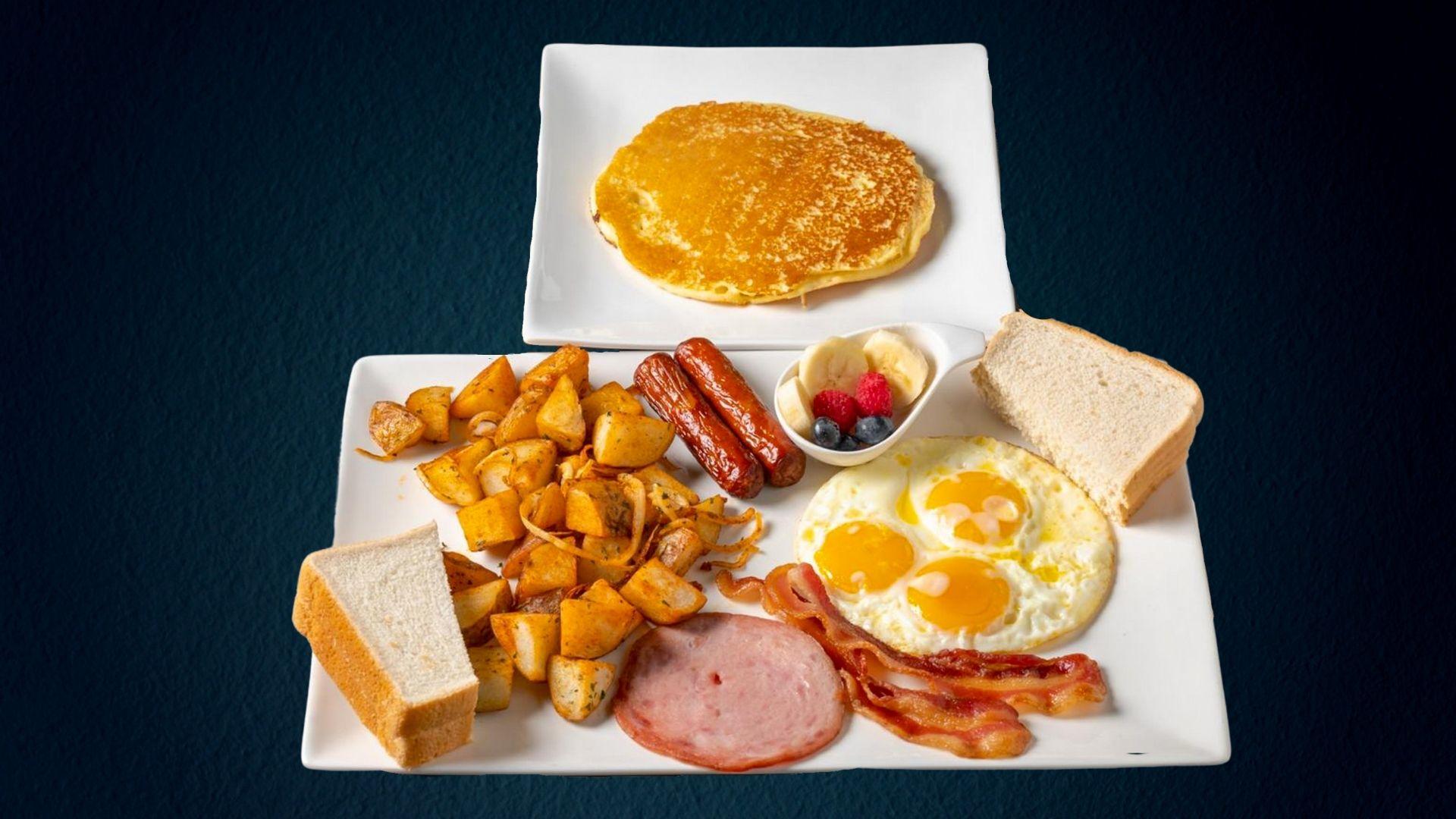 Pier53 - Captains Plate Breakfast