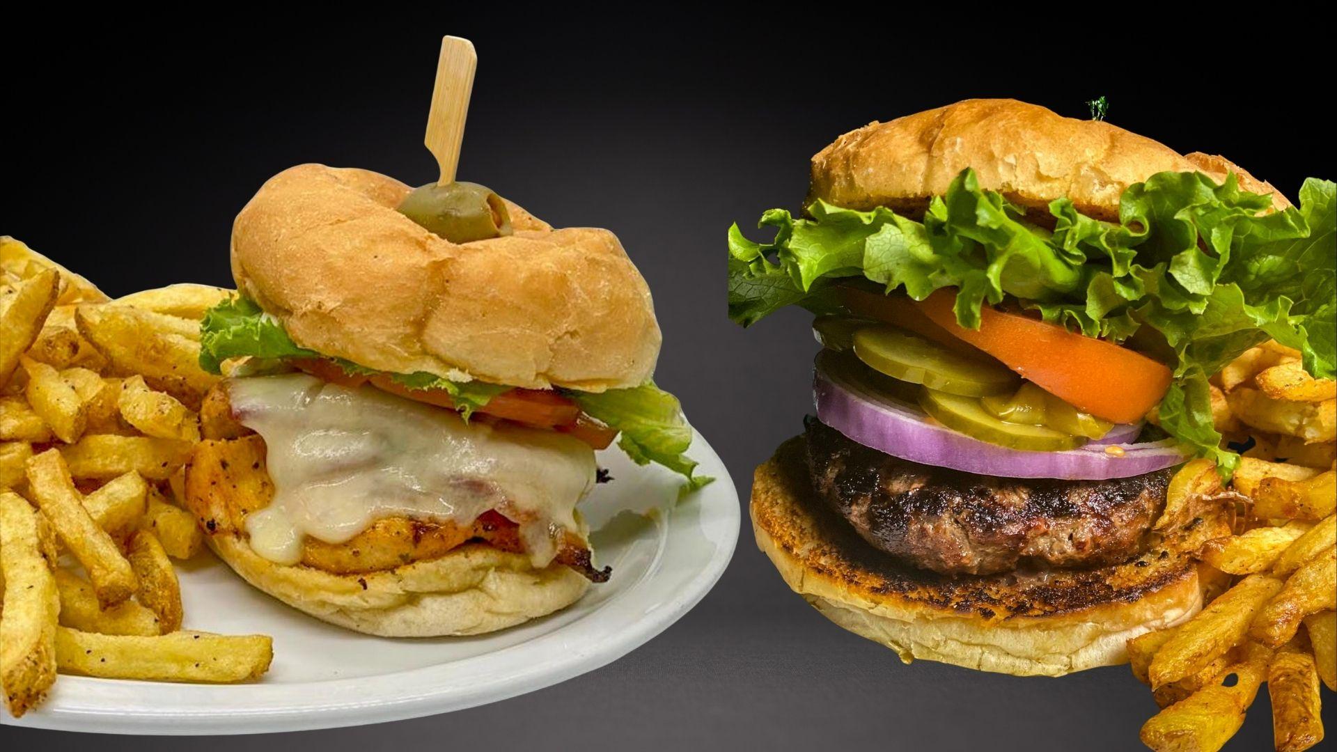 Pier53 - Chicken Caesar Burger Classic