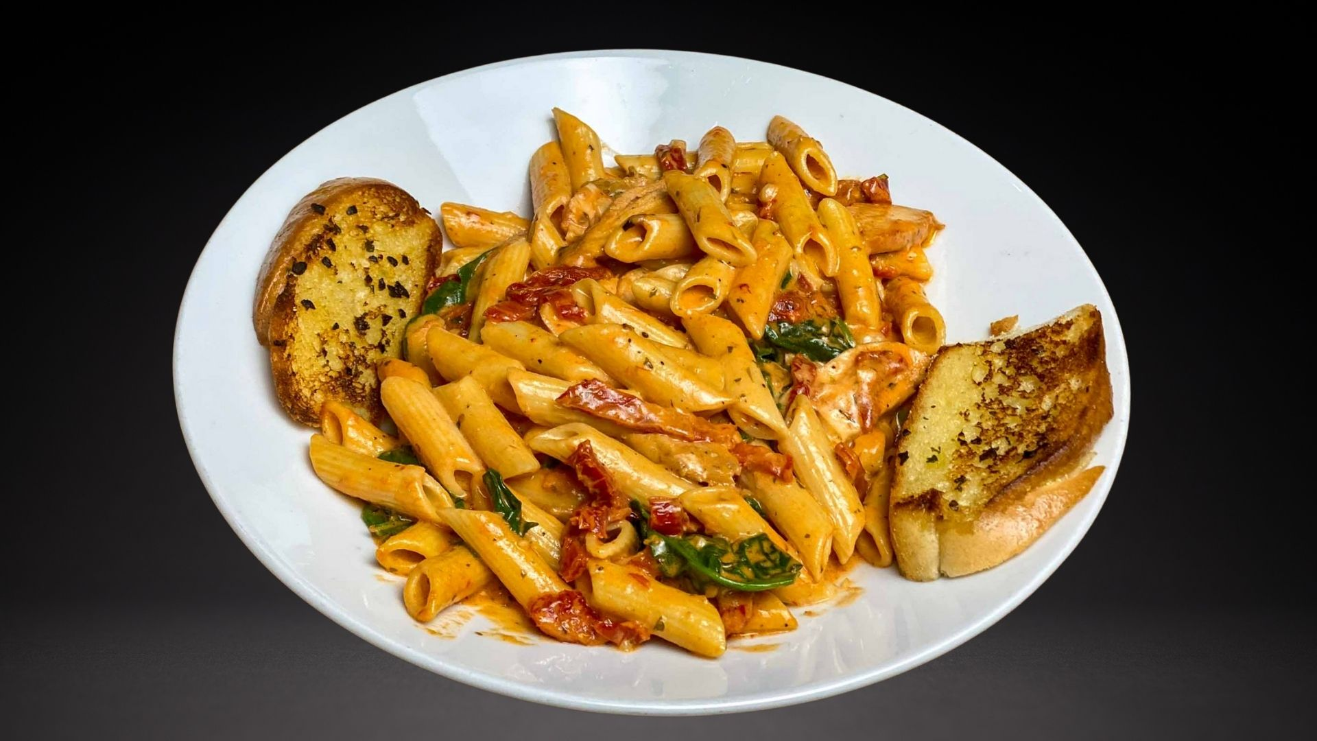 Pier53 - Sundried Tomato Spinach Penne